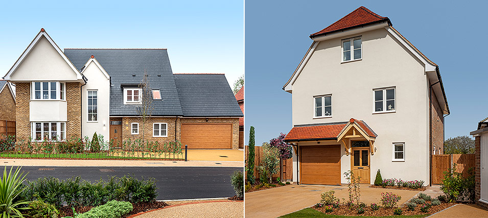 LONDON SQUARE CHIGWELL VILLAGE - THE EDWARDES AND THE WARWICK 	TWO BRAND NEW SHOW HOMES OPEN DAILY