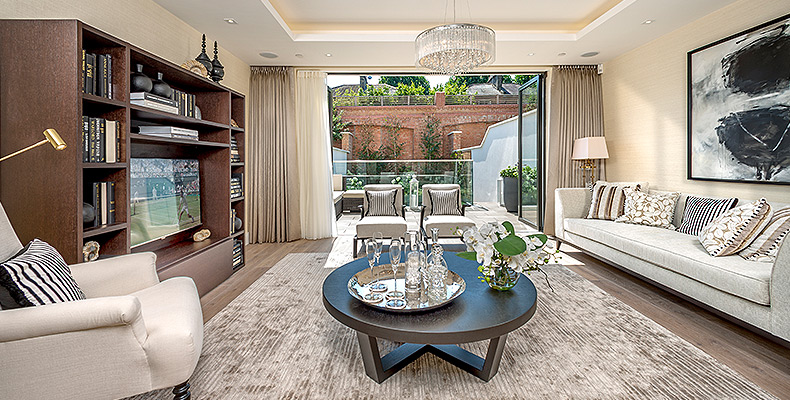 A COLLECTION OF LUXURY TOWNHOUSES 	IN THE HEART OF FULHAM