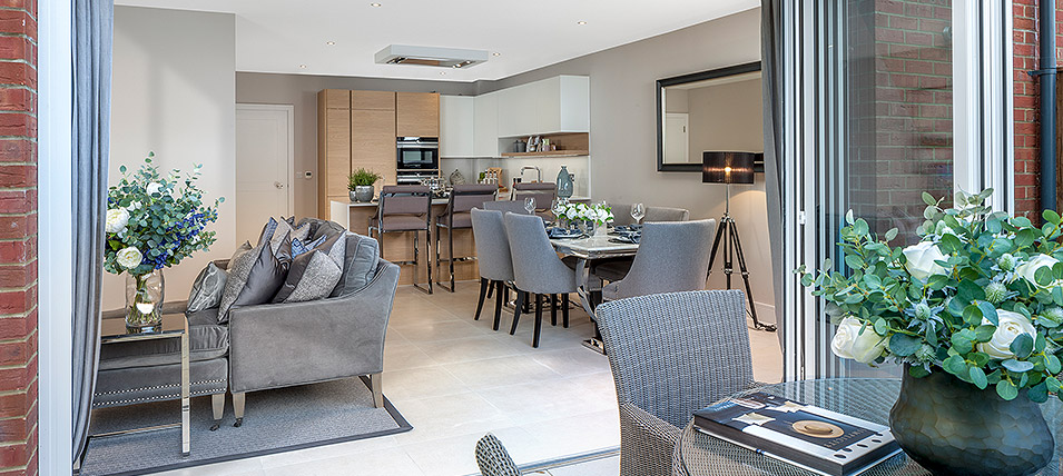 THE FITZROY SHOW HOME AT LONDON SQUARE HAYES, BR2 	OPEN DAILY