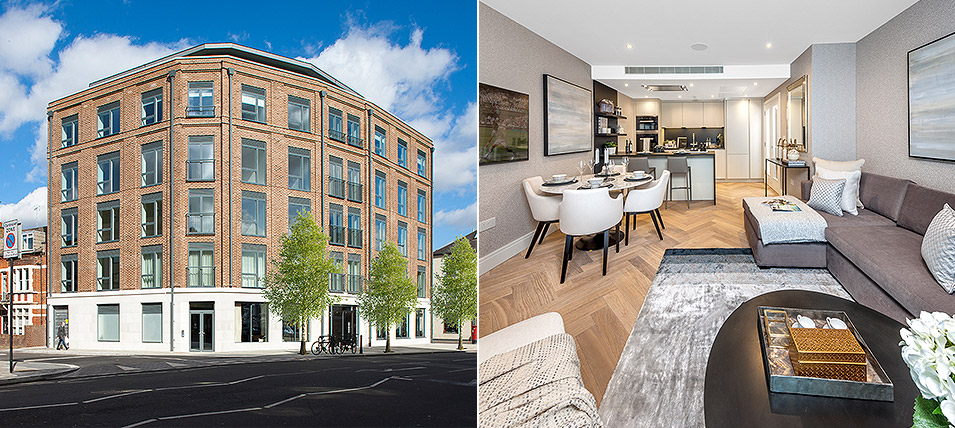 LONDON SQUARE NEW KINGS ROAD 	NOW OVER 60% SOLD