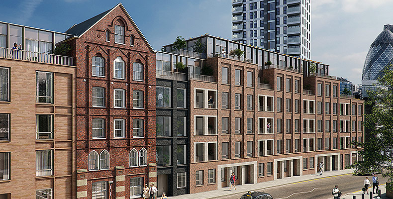 LONDON SQUARE SPITALFIELDS 	NOW OVER 50% SOLD IN PHASE 1