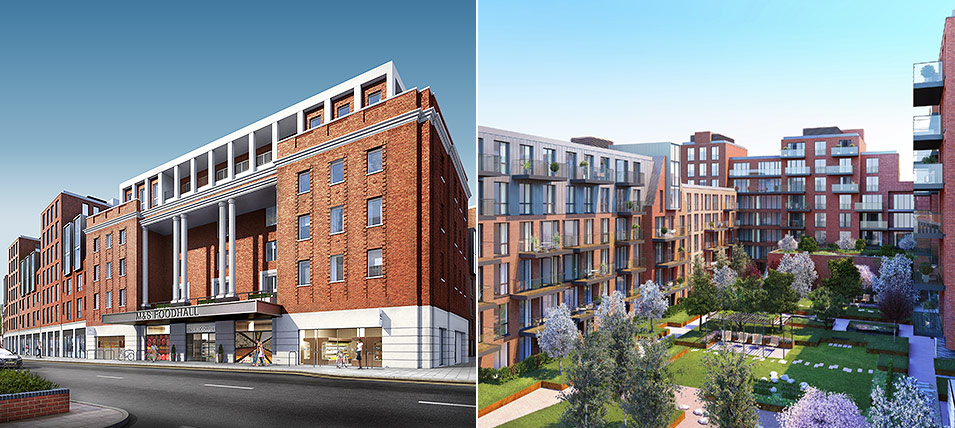 LONDON SQUARE STREATHAM HILL 	NOW OVER 60% SOLD