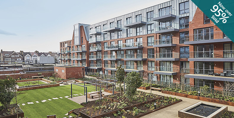 LONDON SQUARE STREATHAM HILL 	ONE APARTMENT REMAINING