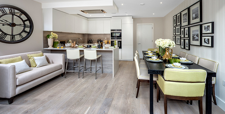 LONDON SQUARE TEDDINGTON 	STUNNING SHOW HOMES OPEN DAILY