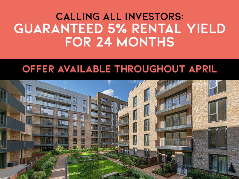 Staines upon Thames - Guaranteed Rental Yield for 24 Months April 2021