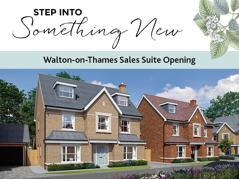 Walton on Thames Sales Suite Opening
