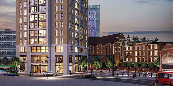 London Square and Clarion complete deal and work starts on £90m West Croydon site