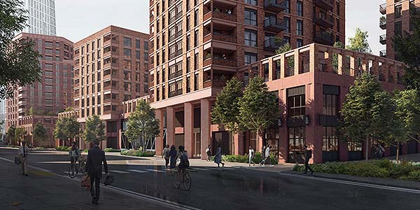 London Square Partners and Peabody JV on £300m new neighbourhood with 457 new homes
