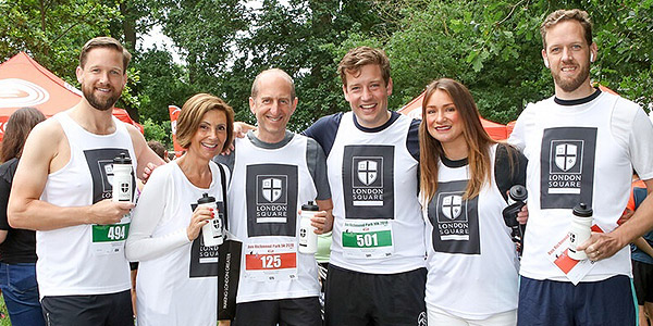 London Square supports Run Richmond Park