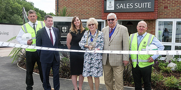 Mayor of Reigate and Banstead Unveils London Square Tadworth Gardens